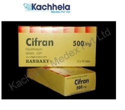 Cifran E/ E Drop Ciprofloxacin, 1*1, Prescription