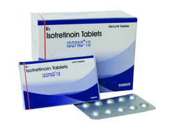 Finished Product Isopad Isotretinoin Tablet, Packaging Size: 10x1x10