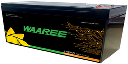 Waaree 7.5 Ah VLRA Battery