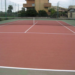 Tennis Court Flooring Service
