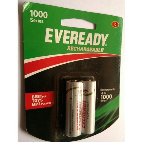Eveready Lr6 Aa Rechargeable Battery Capacity 600 Mah 1 2 V Rs 150 Pack Id 11699278062