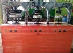 3 Die Areca Leaf Plate Making Machine