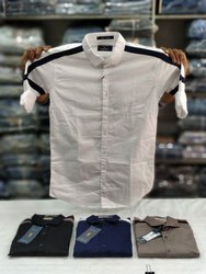 Printed Slim Fit Mens Casual Shirts