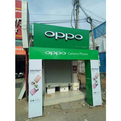 Chennai Stainless Steel Mobile Shop Sign Board For Commercial