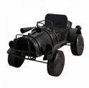 Black Artisans Rose Road Trippin Vintage Iron Miniature Car