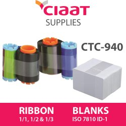 Ciaat & Nisca Card Printer Ribbon