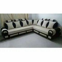 L Shape Sofa Set Leather, For Home, Hotel