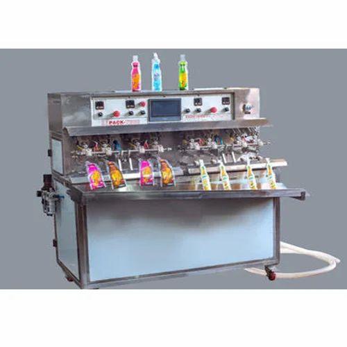 NPM Shape Pouch Juice Filling Machine