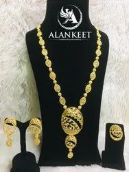 Gold Necklace Set Jewelry