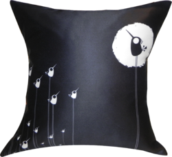 Satin Printed Cushion Cover