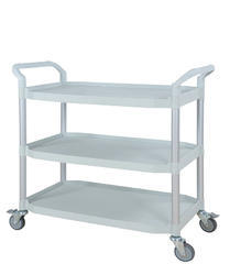 3 Shelves Stainless Steel Trolley