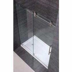 Transparent Sliding Shower Glass