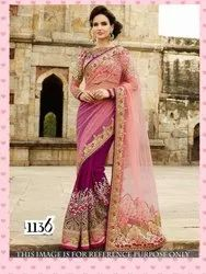 Embrodery Silk Saree