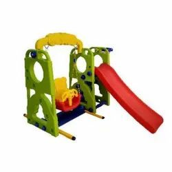 Happy Slide With Swing