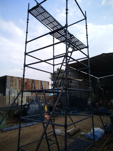 Scaffold Tower And Ladder - Mobile Scaffold Tower Manufacturer from Pune
