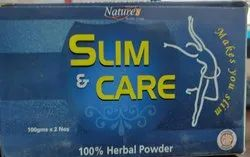 Nature's Slim And Care Herbal Powder, Packaging Type: Box