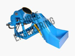 Hydraulic Hopper Mixer Machine With Lever Tilting Type