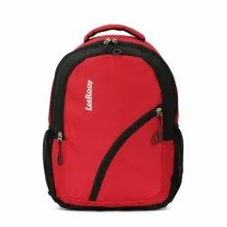 Red Plain LeeRooy Bg 16 College Laptop Backpack, Capacity: 32 L