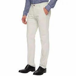 White Men Pants