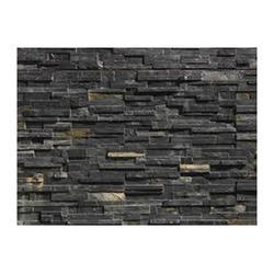 Black Stone Wall Cladding Tile