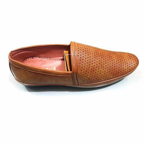 77b83cd5384 Men Brown Semi Formal Shoes at Rs 350  pair