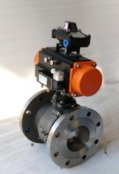 Ball Valve With Rotary Actuator