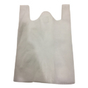 White W Cut Bag