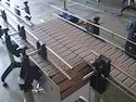 Aluminium Slat Chain Conveyor