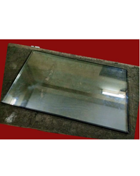 Power Cool Visi Cooler Double Glazing Display Glass, Size: 22 X 18 Inch