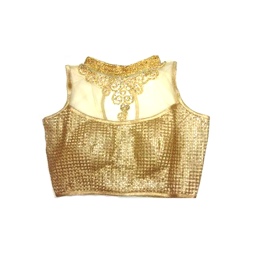 a83cbd8b87f8c1 Golden Embroidered Las Readymade Blouse Rs 500 Piece Id