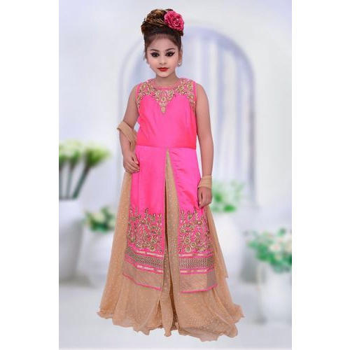 Baby Girls Kids Fancy Front Open Dress, Rs 1095 /piece, Tanishq ...