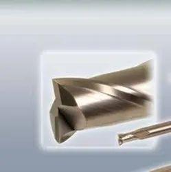 Hitachi Carbide Deep machining End mill Epoch pencile Deep Square endmill, Shank Diameter: 4mm
