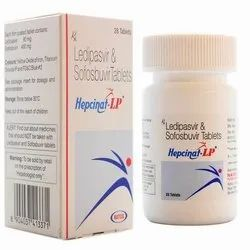 Ledipasvir and Sofosbuvir Tablets, Packaging Size: 28 Tablets, Packaging Type: Bottle