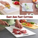Chopping Board for Vegetable & Meat Cutting (13x8-inch) - Plastic Chopping Board