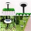 Refurbished Solar Disk Lights for Garden