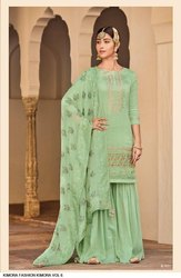 Pure Silk Embroiderd Suits