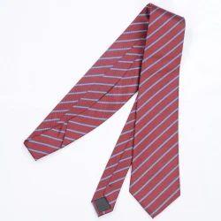 Unisex Striped School Tie