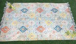 Cotton floor rugs