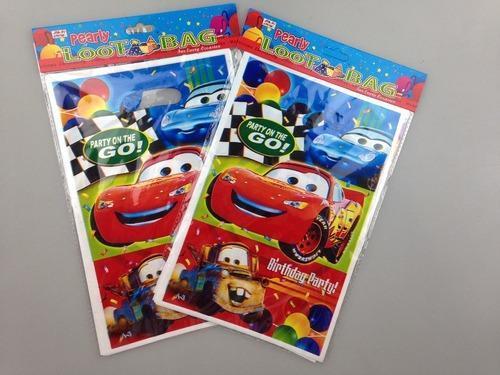 Disney Theme Birthday Party Cars Loot Bags