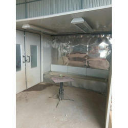 Water Wash Spray Booth for Furniture