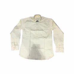 Men's Formal Plain Cotton Shirt, Size: S to XXXL