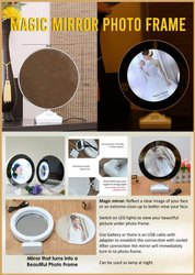 Magic Mirror Photo Frame