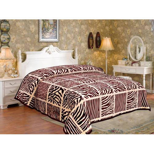 43574c92f1 Double Woolen Printed Bed Blankets, Rs 1500 /piece, Gopal Pardhan ...