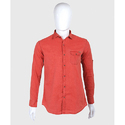 Cotton Plain Casual Shirt, Size: 40