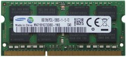 Samsung Original 8GB 1 x 8GB 204-pin SODIMM DDR3 PC3L