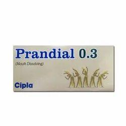 Prandial Mouth Dissolving Tablet