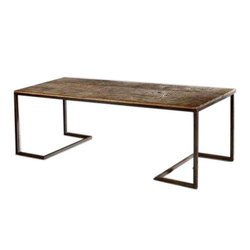 Furniture View Point Antique Teak Wooden Dining Table