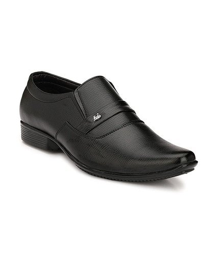 buy buy good sale usa online Anshul Fashion Black Synthetic Leather Formal Slip On Office ...