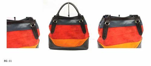 Mon Exports Multicolor Ladies Handbag 550f8bf23df15