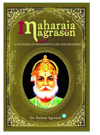 History Book - Maharaja Agrasen - A Founder Of Prosperous